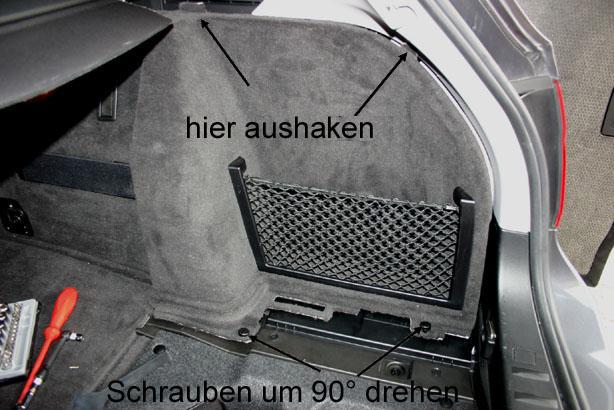 Tausch Der R 252 Ckleuchten Am 3er Touring E91