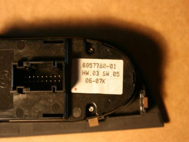 Bmw Fensterheberschalter Mit Einklappfunktion Nachruesten E90 Faq De 8