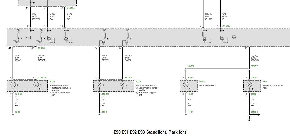 Nachrüstung Xenon Scheinwerfer VFL bzw. von VFL auf LCI nur ...