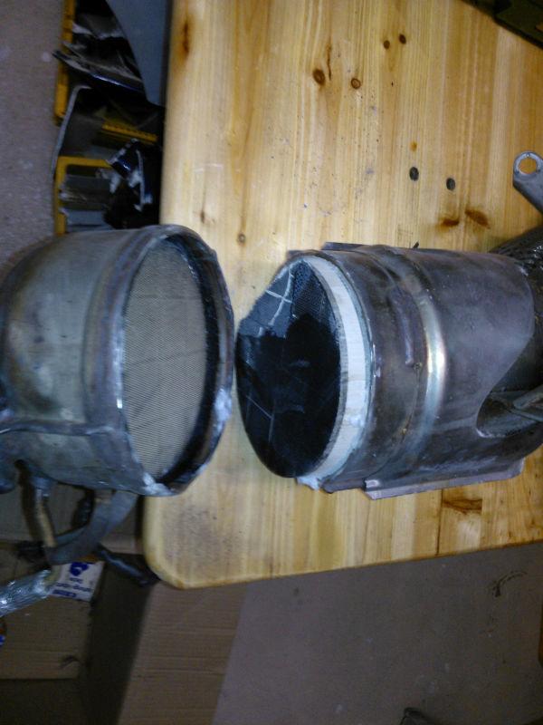 diesel partikelfilter dpf 320d m47d20tu2 entfernen