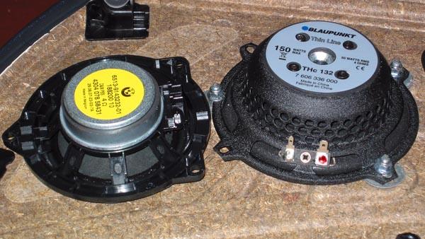 standard-lautsprecher vorne durch 2-wege-hifisystem ersetzen