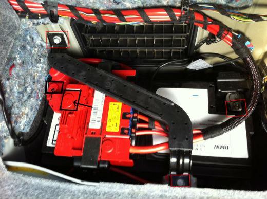 Batterie Abklemmen Beim E90