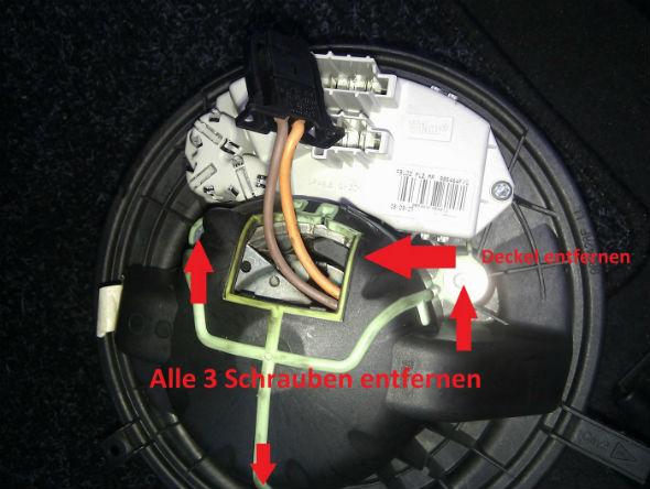Bmw Klimaluefter Quietschen Beseitigen E90 Faq De 5